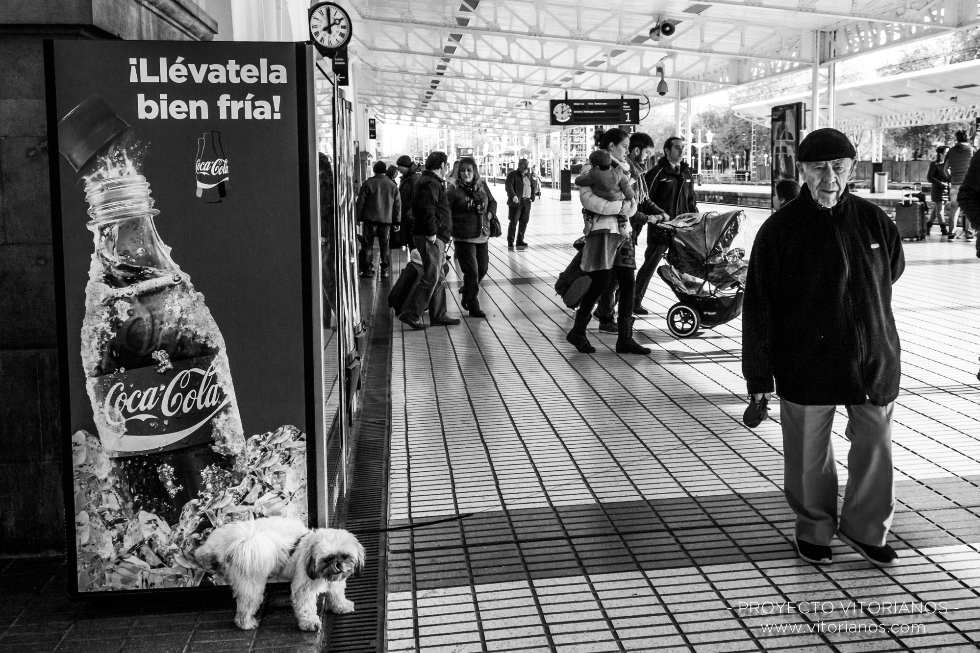 Vitoriano y su perro - Foto: Bea Cañas