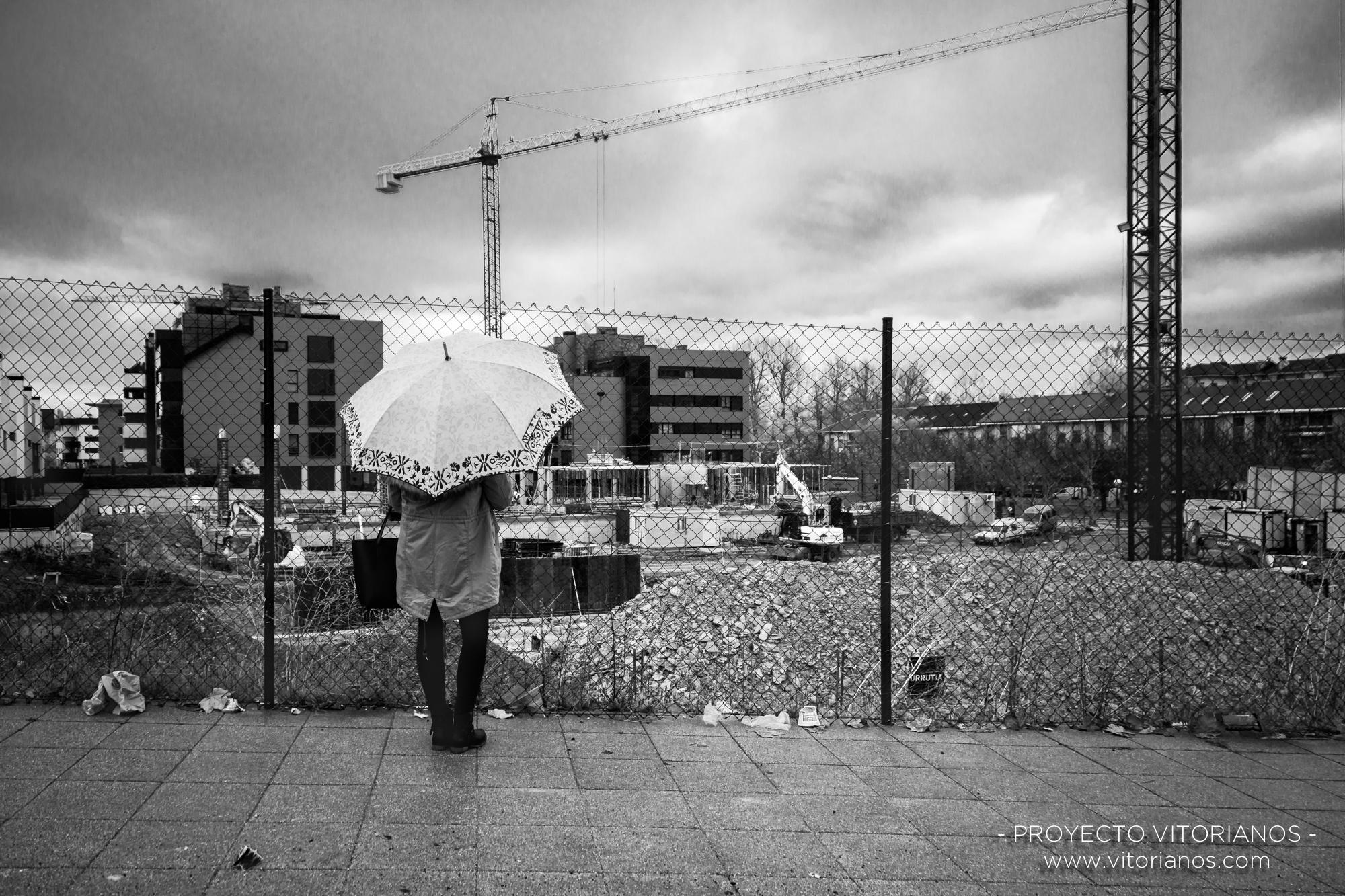 Obras en Zabalgana - Foto: Jaione Corcuera