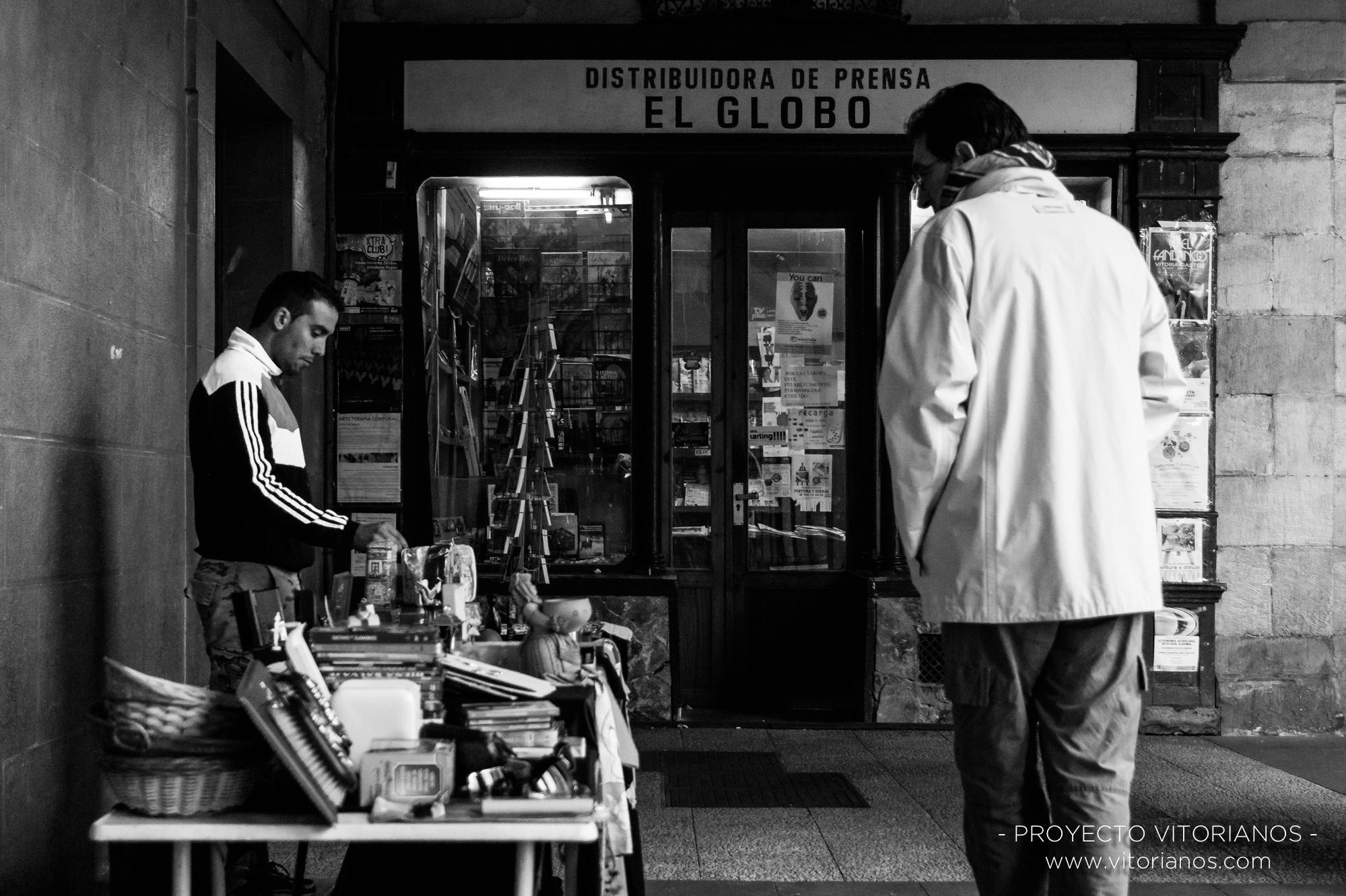 Mercadillo de la Plaza de España - Foto: Asun Zárate