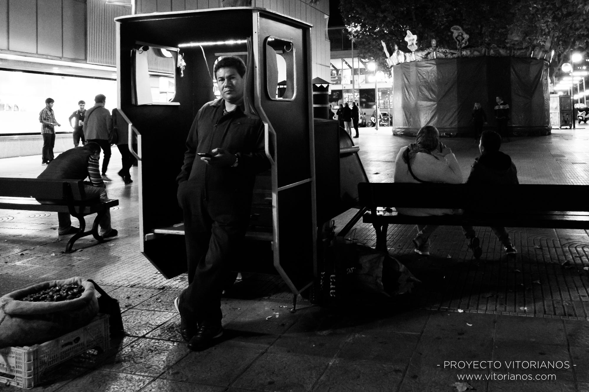 Vendedor de castañas - Foto: Toñi Pérez
