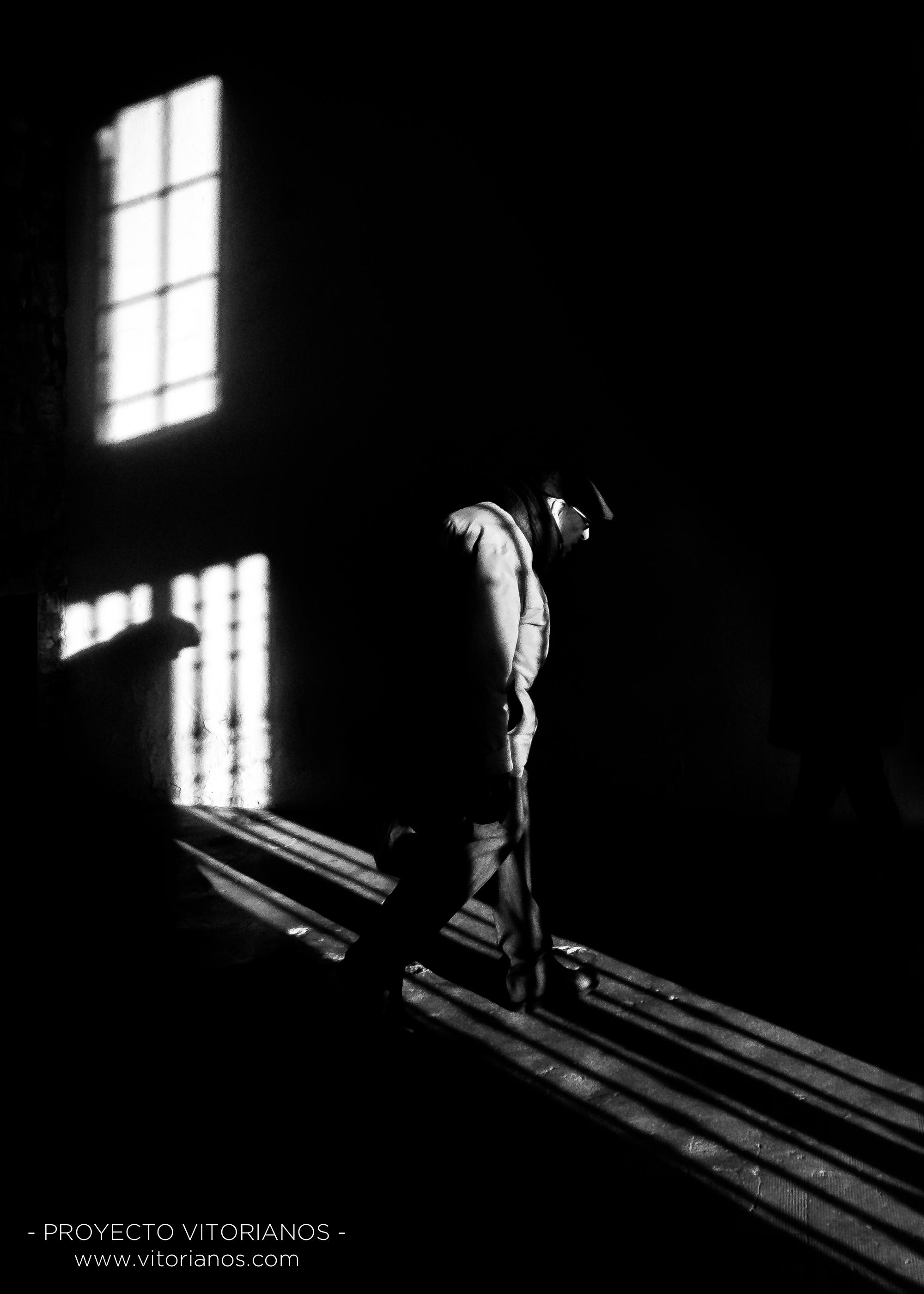 Vitoriano en la oscuridad - Foto: Sandra Sastre