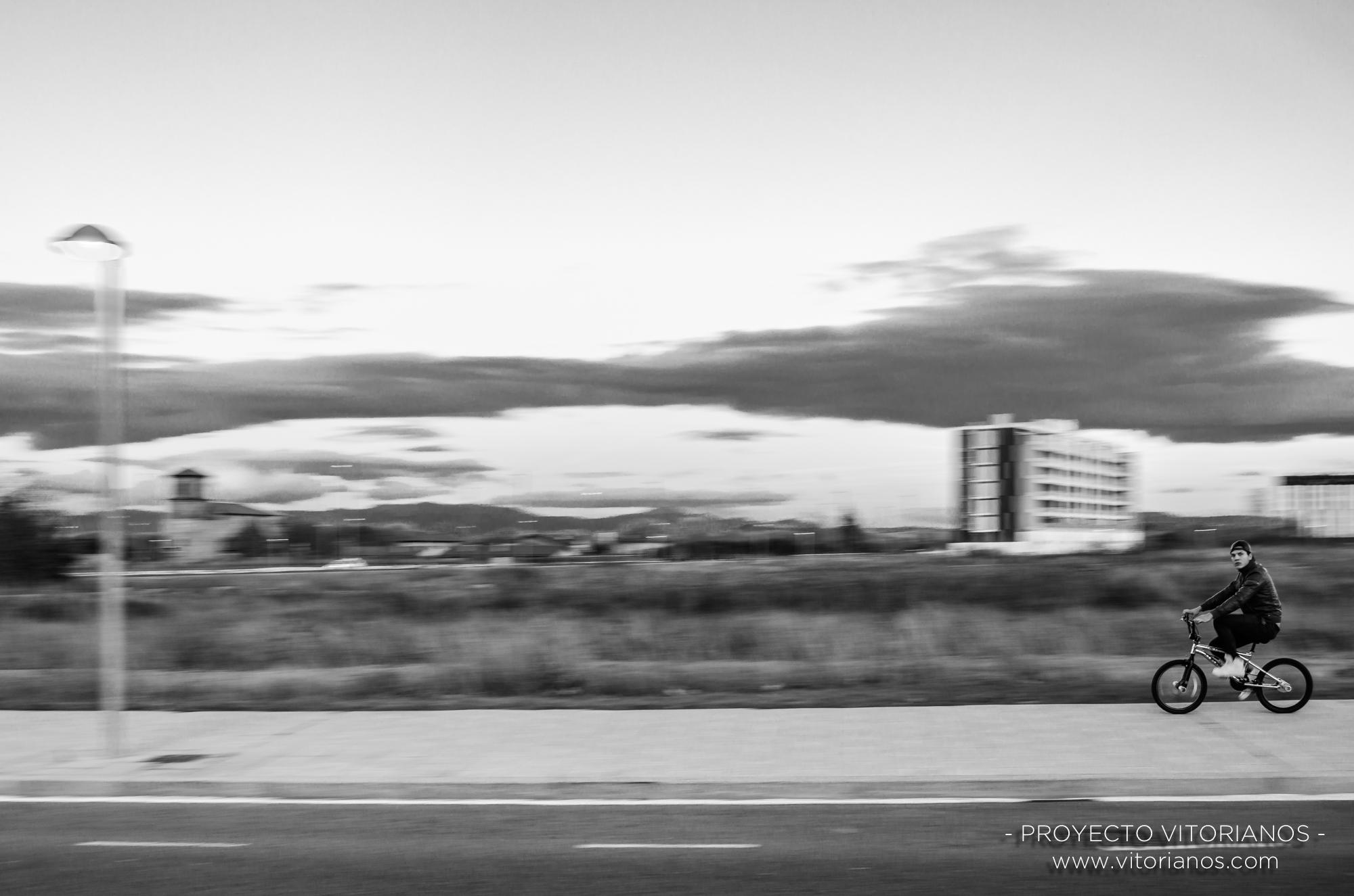 Barrido a las afueras - Foto: Mónica Tomás