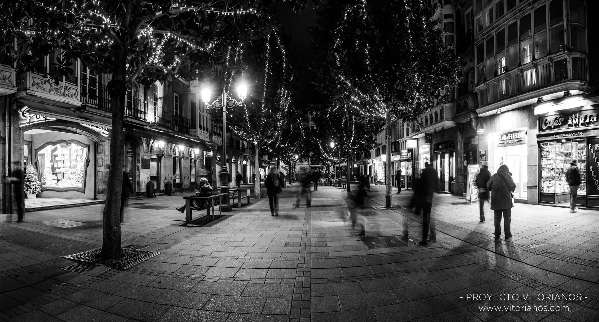 Calle Dato en Navidad - Foto: Ainhoa Valenciano