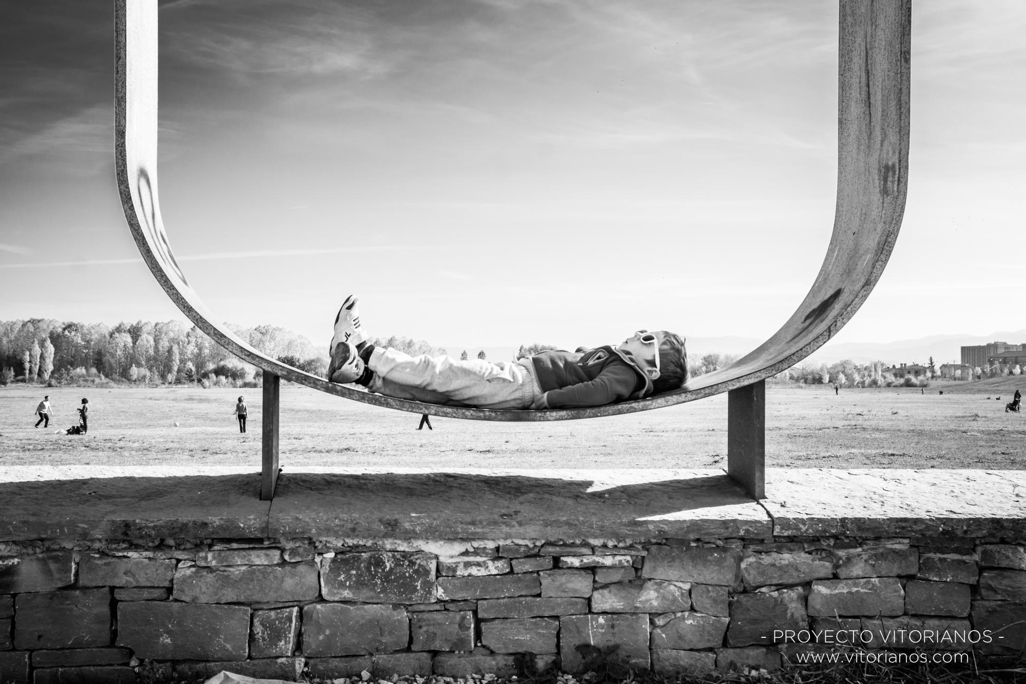 Vitoriano en Salburua - Foto: Irune Bonilla
