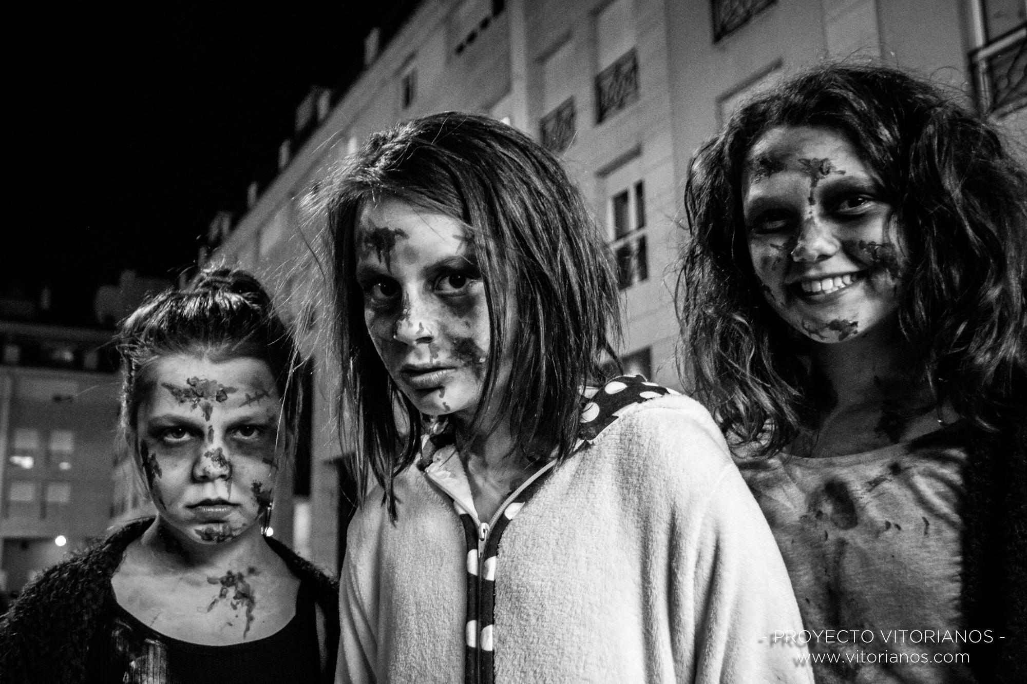 Vitorianas en Halloween - Foto: Raúl Cerezo