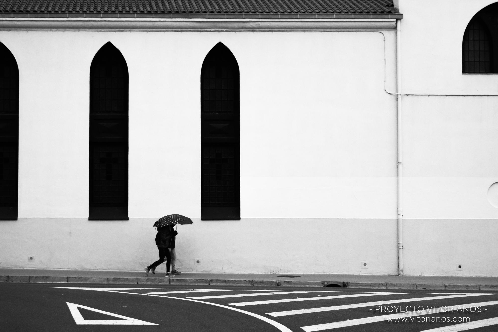 Vitorianos en la Parroquia de San Cristobal - Foto: José Antonio Eguiara