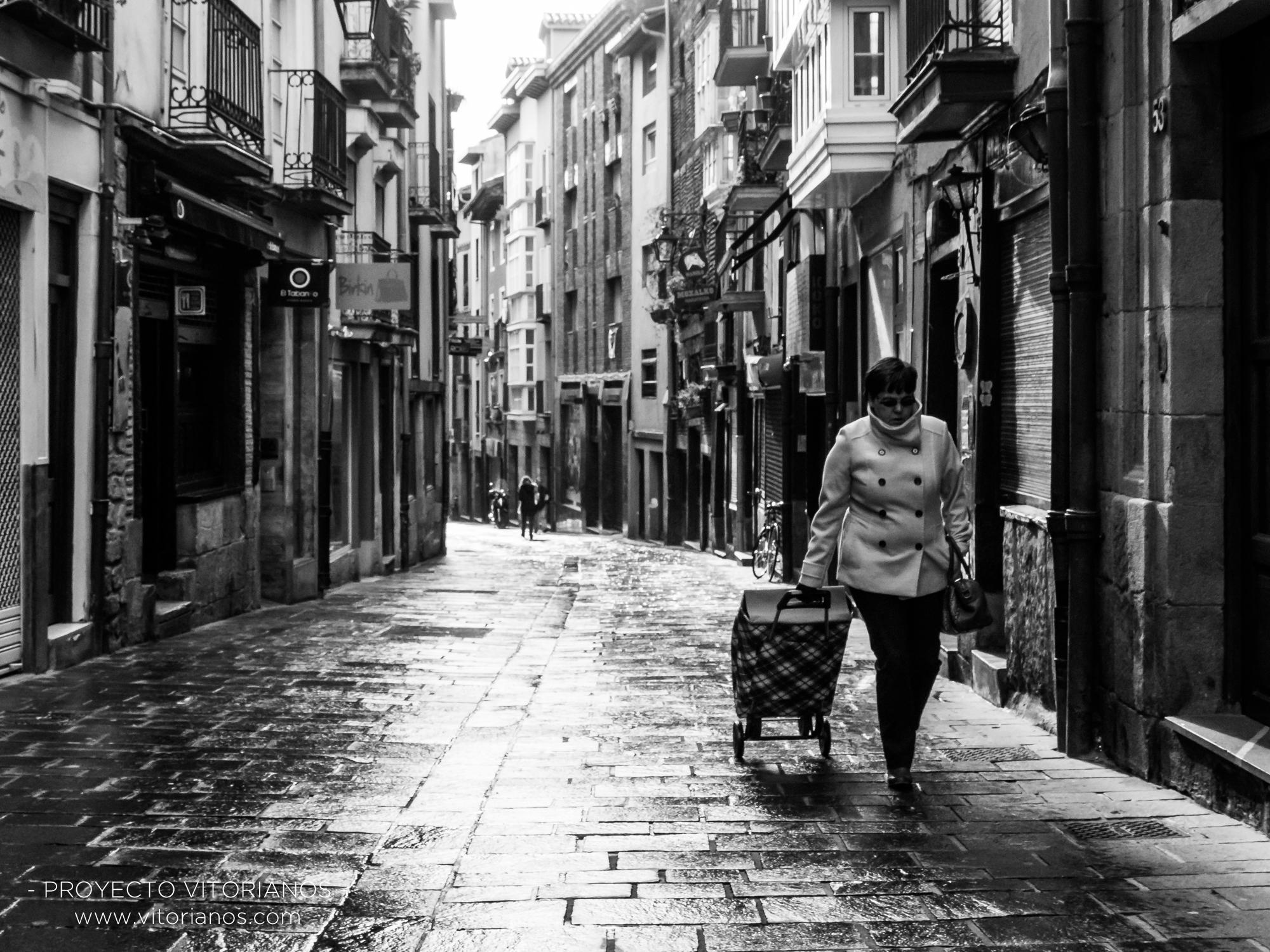 Vitoriana en la Calle Correría - Foto: Adolfo Carrero