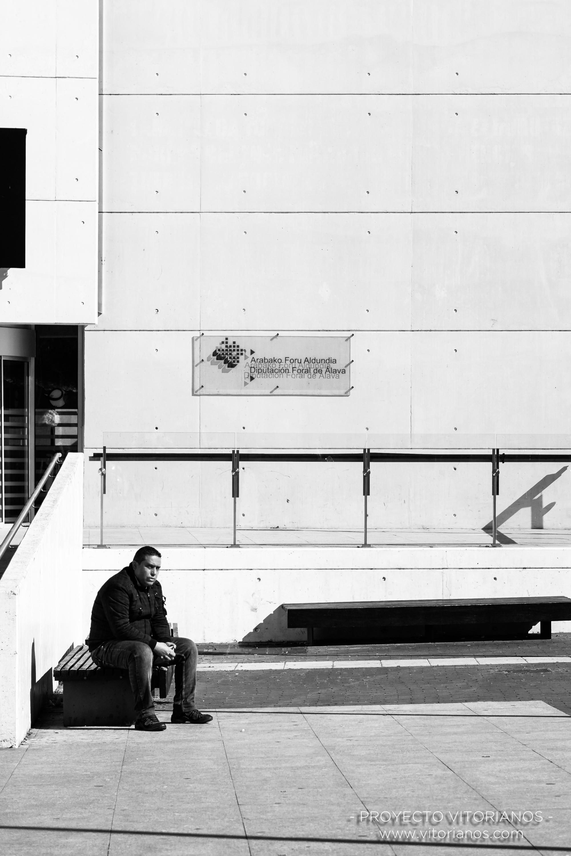 Vitoriano en el Artium - Foto: Gustavo Bravo