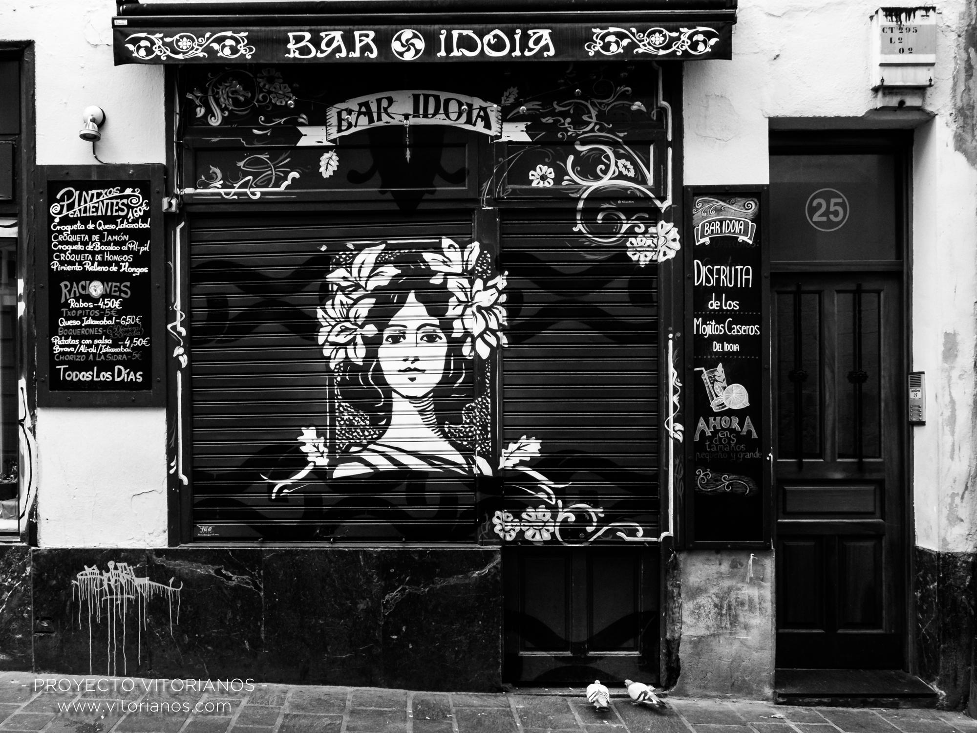 Fachada de bar - Foto: Begoña Ugarriza