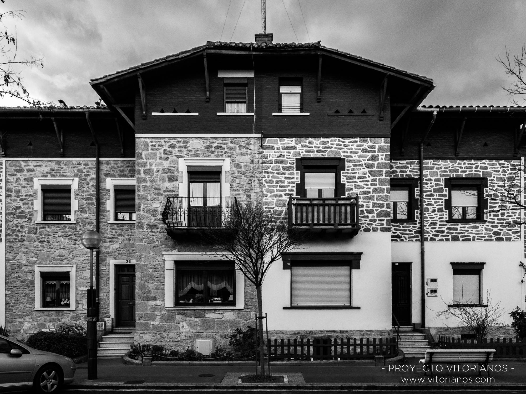 Casas adosadas - Foto: Begoña Ugarriza