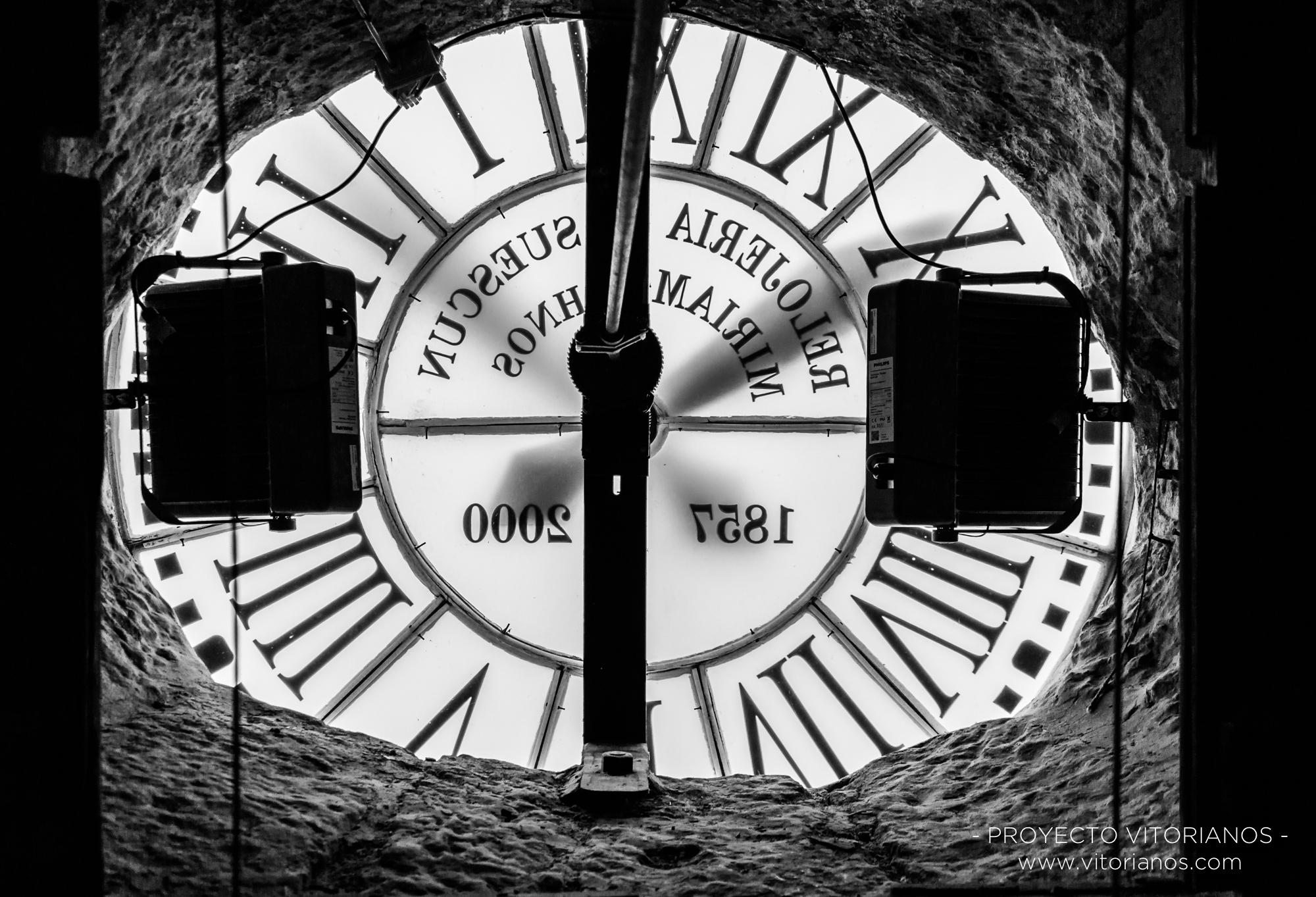Interior del reloj de San Miguel - Foto: Bea Cañas