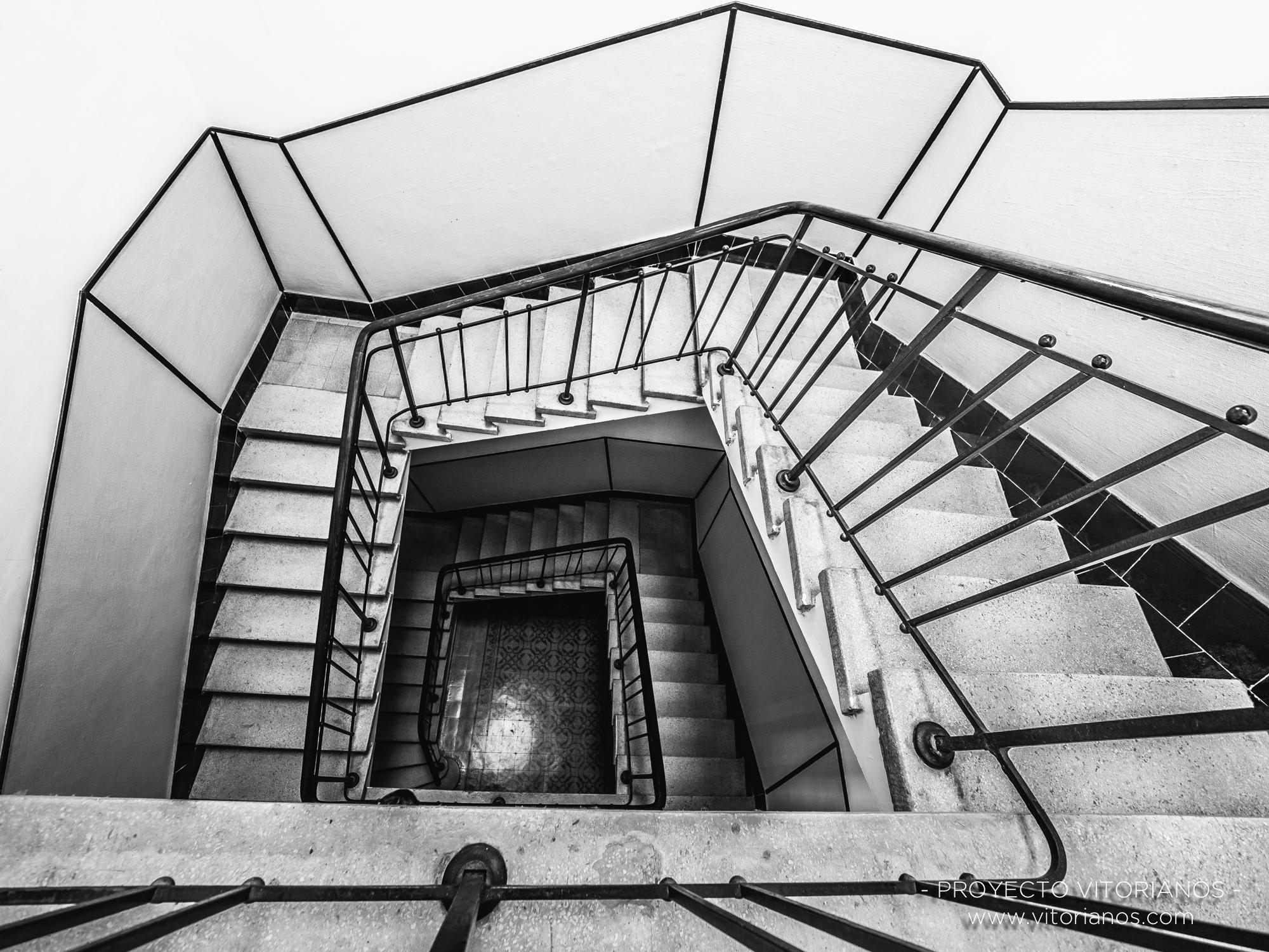 Escaleras del Seminario - Foto: Juanan Perez de Cárcamo