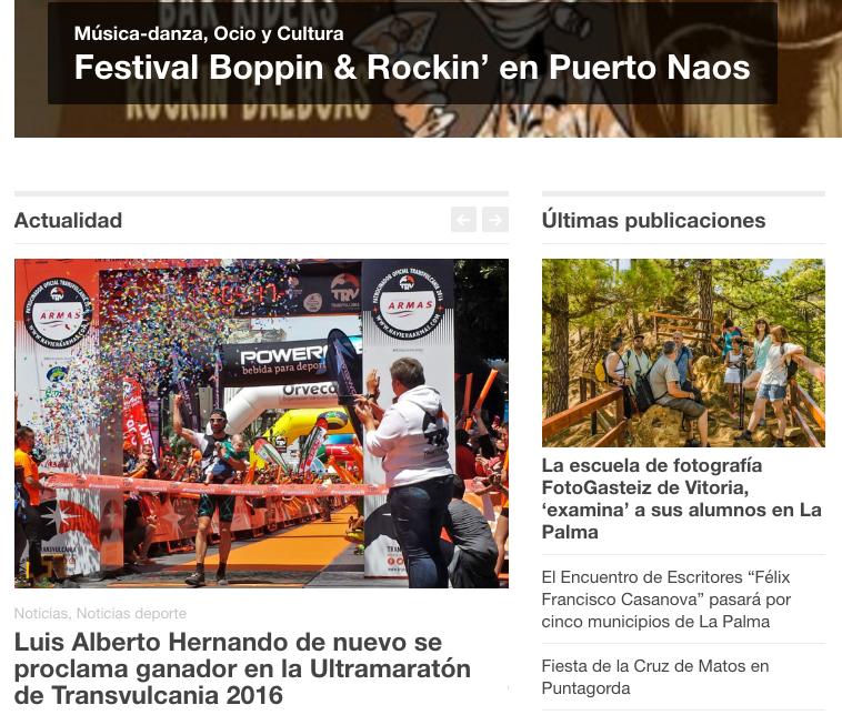 El viaje fotográfico de FotoGasteiz, en 'La Revista de La Palma'
