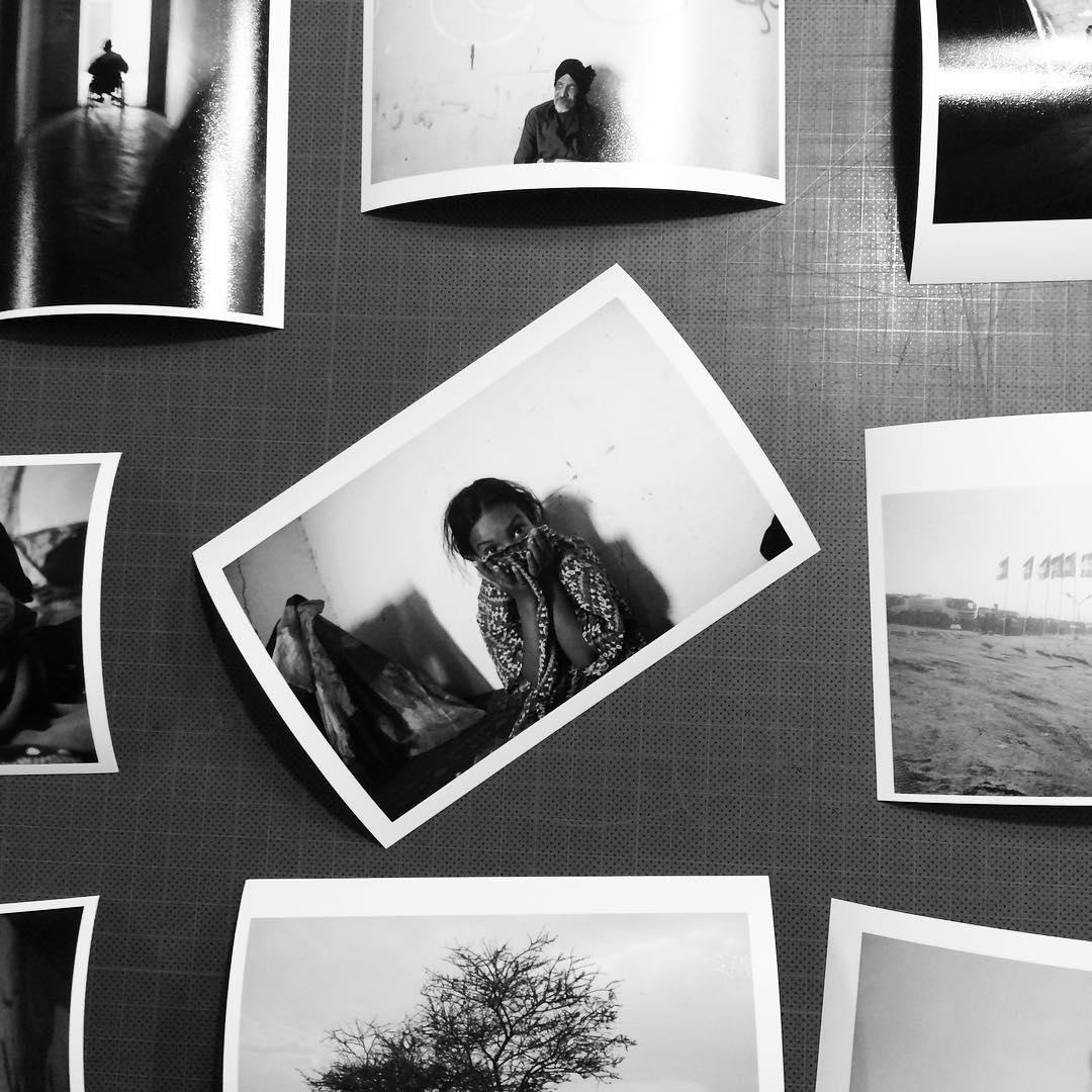 Exposición fotográfica del pueblo saharaui en el Parque de La Florida