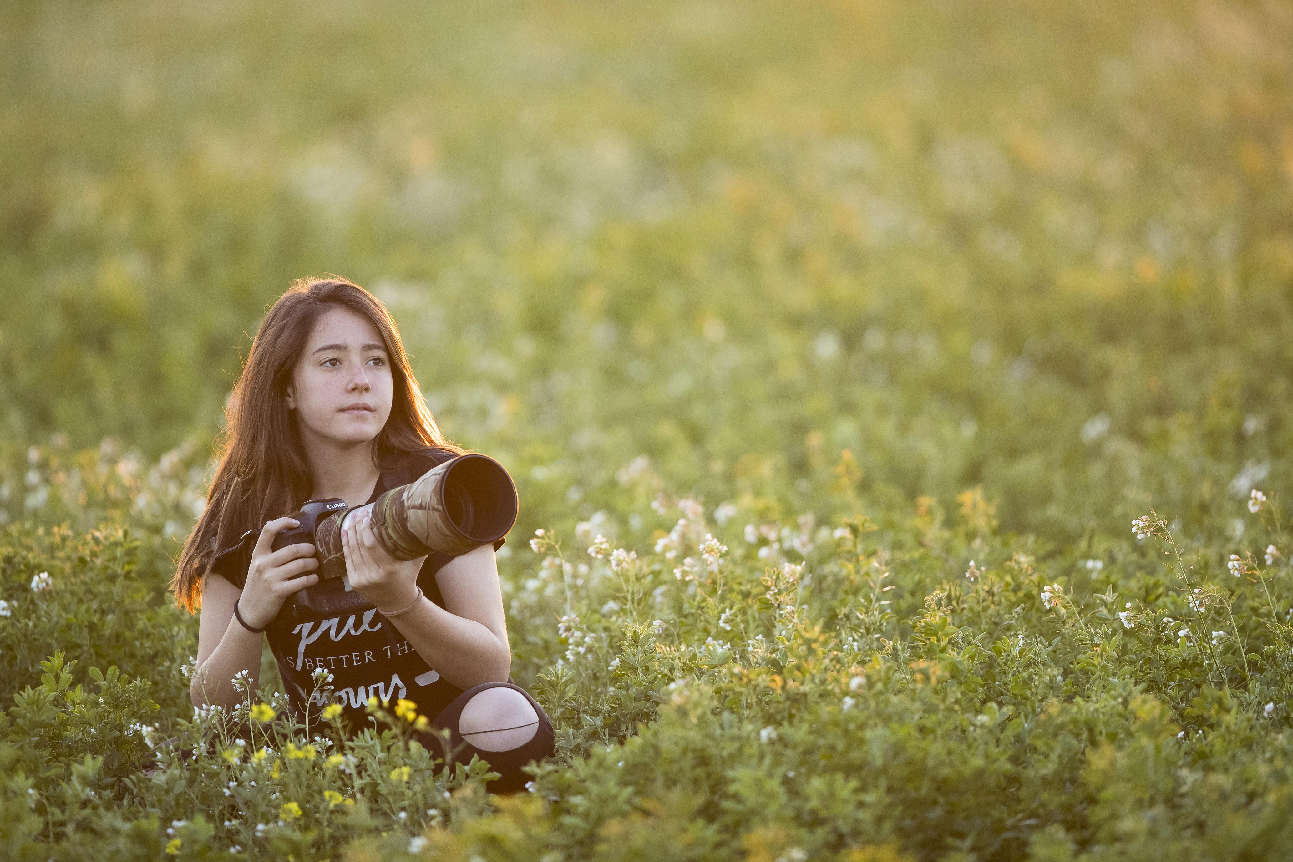Una niña española, fotógrafa desde los 4 años, finalista de los 'Wildlife Photographer of the Year 2017'