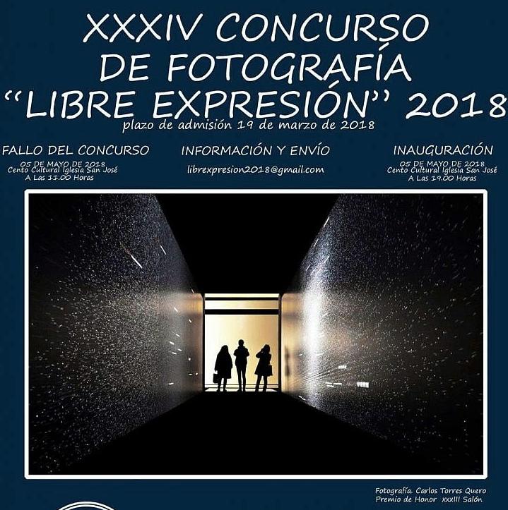 Concurso de foto 'Libre expresión', hasta el lunes 19 de marzo