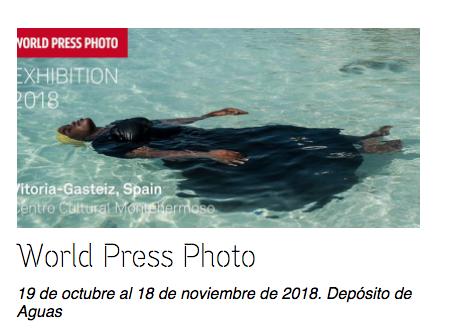 Las fotos más impactantes de 2017 llegan a Vitoria el 19 de octubre de 2018
