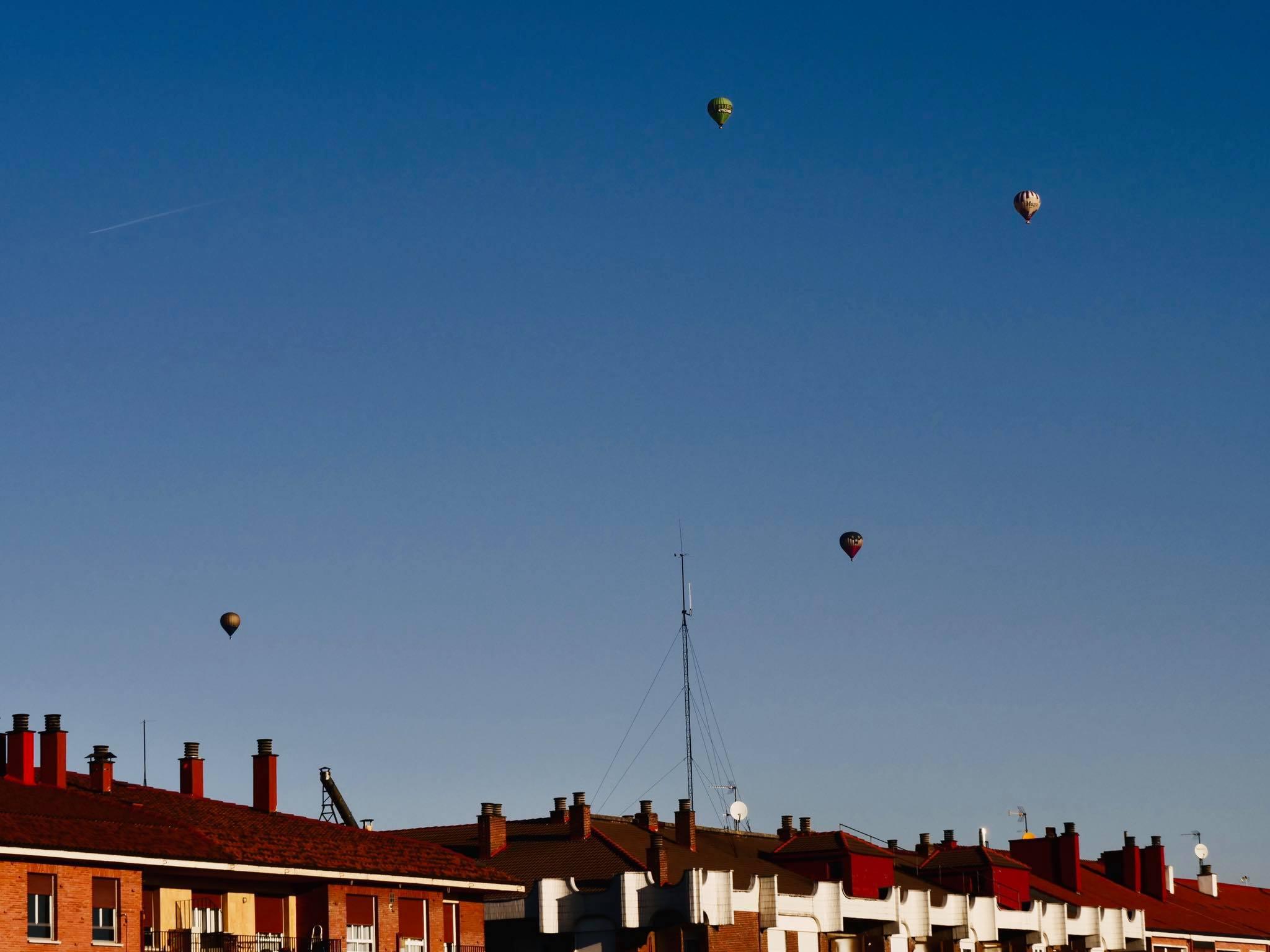Concurso de fotos de globos aerostáticos este fin de semana en Vitoria
