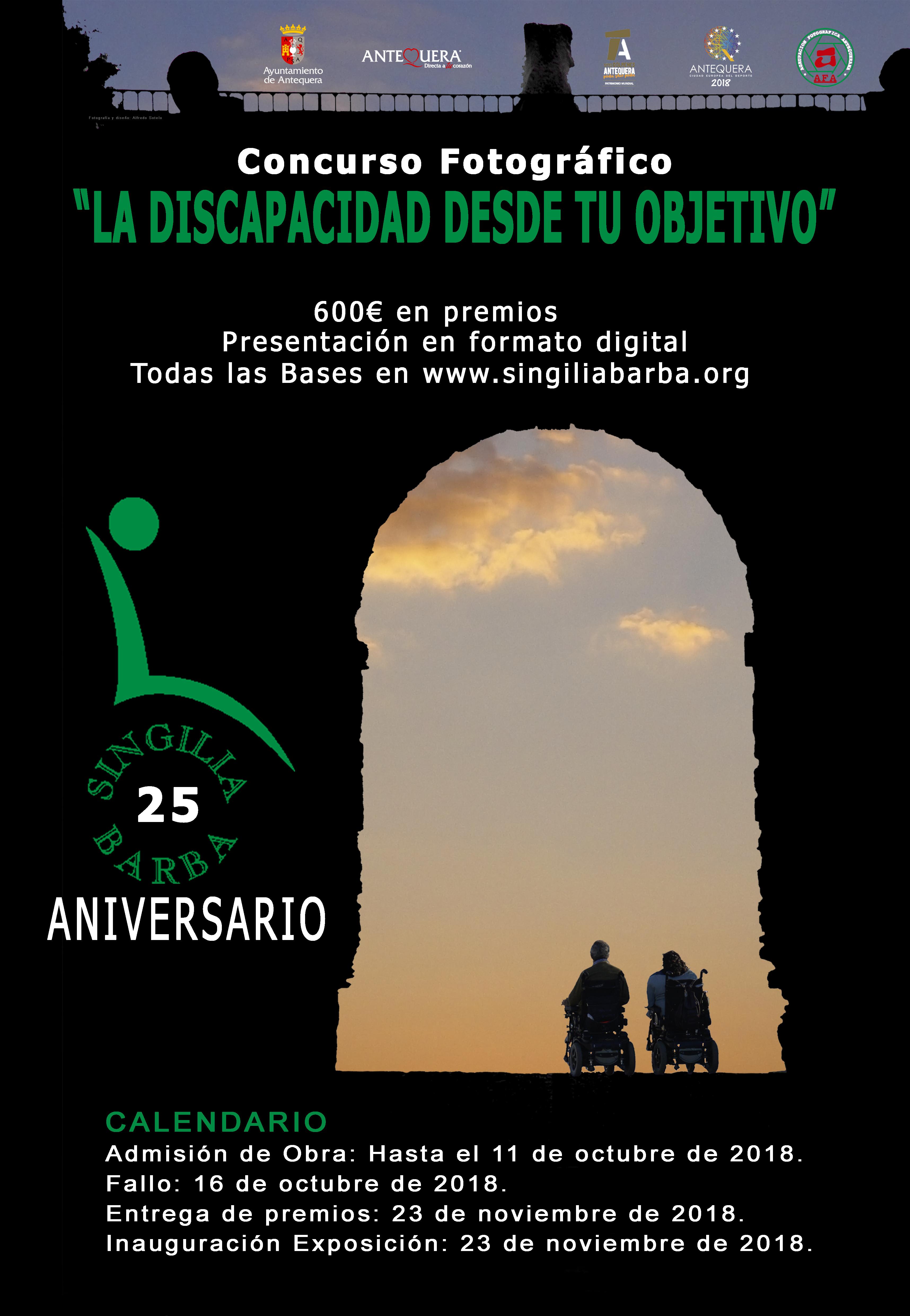 Concurso de fotos 'La discapacidad desde tu objetivo', hasta el 11 de octubre