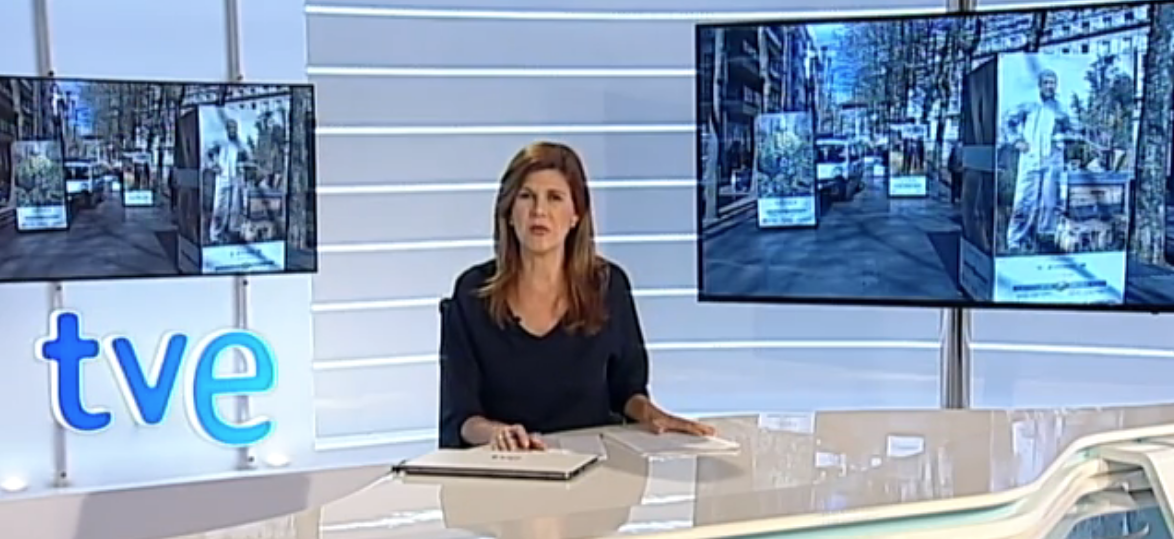 'BerdeAraba Kontzientzia', noticia del informativo TeleNorte de TVE