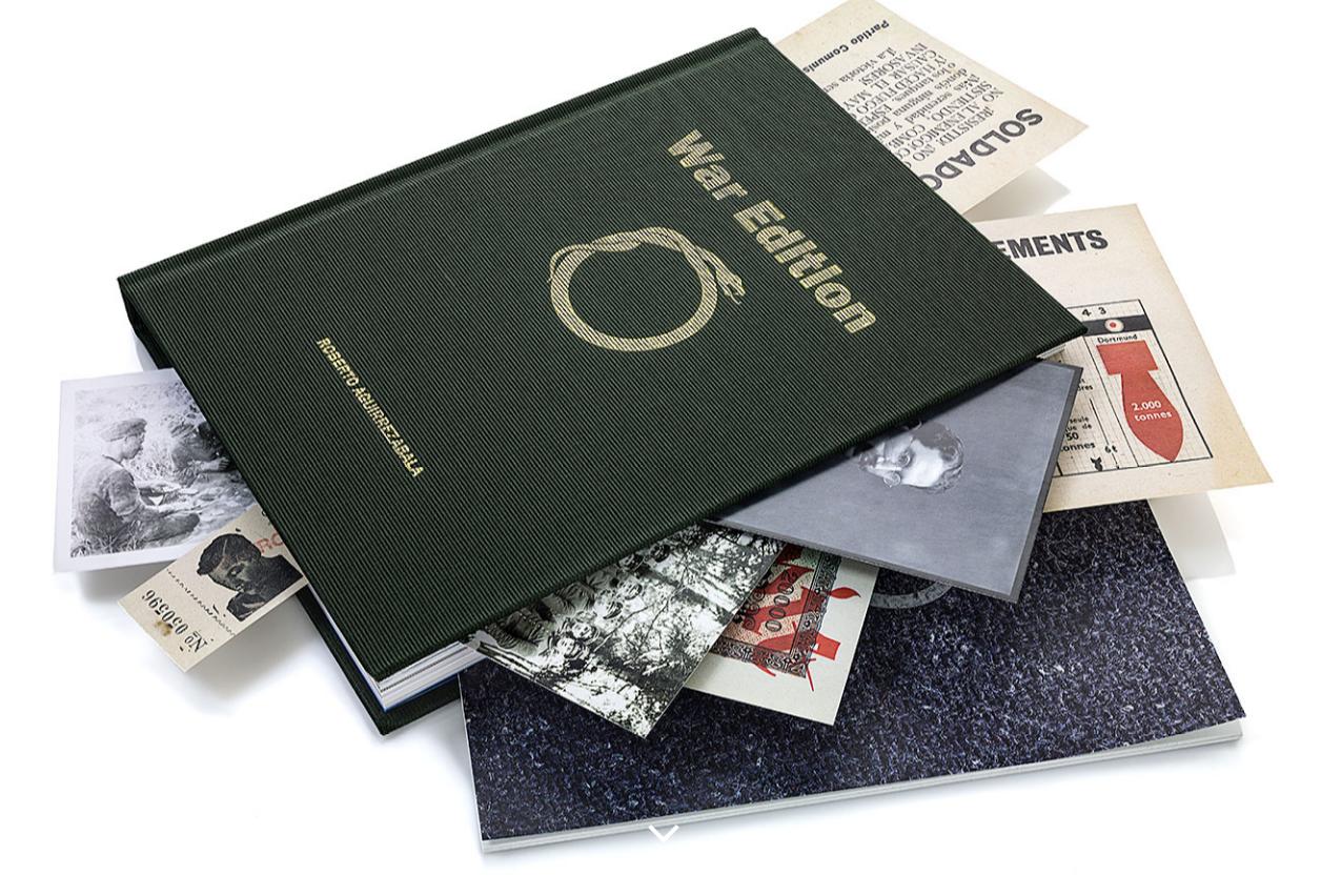 Presentación del fotolibro 'War Edition', el jueves 20 d ejunio en la Sala Amárica